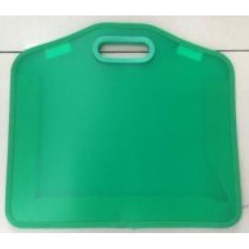 Папка-портфель пластик.А3 с врезными ручками
