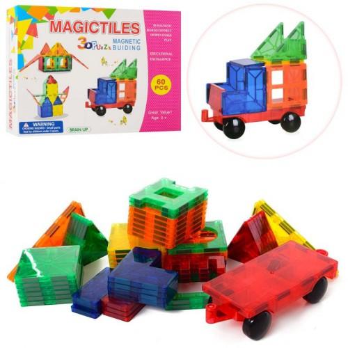 Магнитный конструктор Magictiles 60 детелей