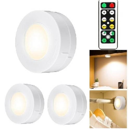 Лампа Led набор 3шт. + пульт LED Night Light