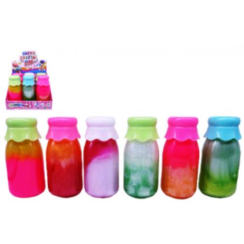 """Игрушка лизун-желе """"Разноцветный"""" 360г в бутылке"""