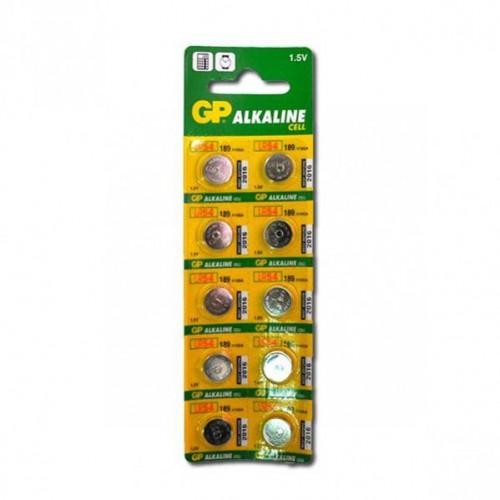 Батарейка GP-189 LR54 «таблетка», Alkaline, 1,5V
