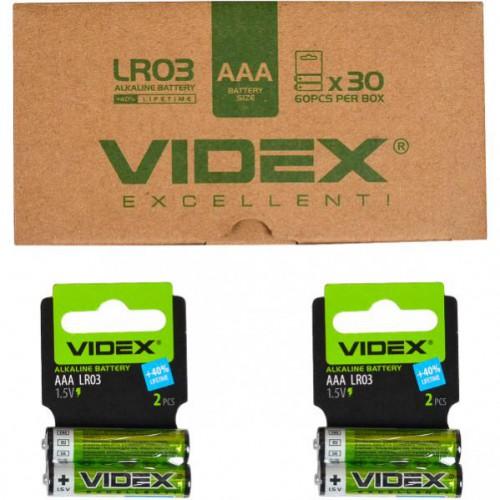 LR03 Батарейки Videx AAA щелочные