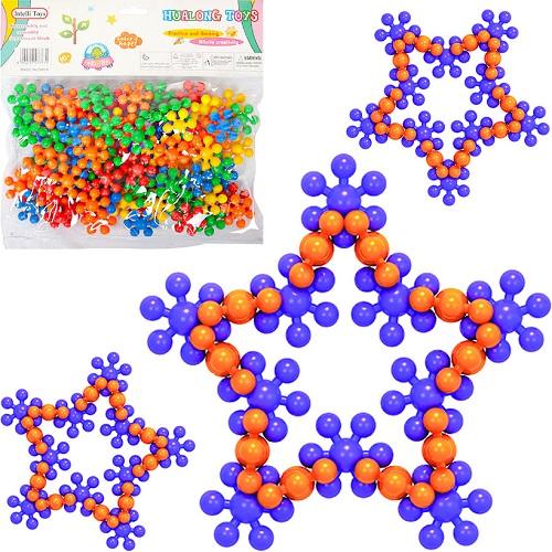 Конструктор Puzzle blocks «Снежинка» 3+