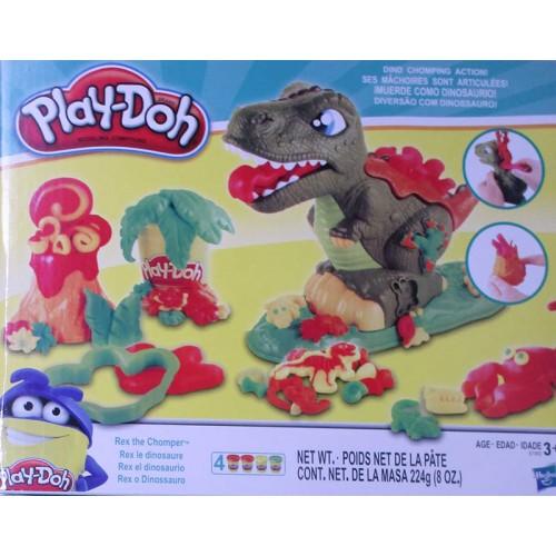 """Набор для лепки с игрушкой """"Динозавр"""" в коробке"""