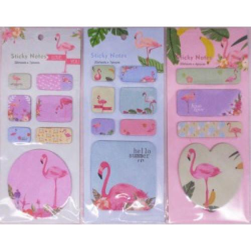 "Бумага для заметок ""Фламинго"" 8,4*19,2см, 20л"