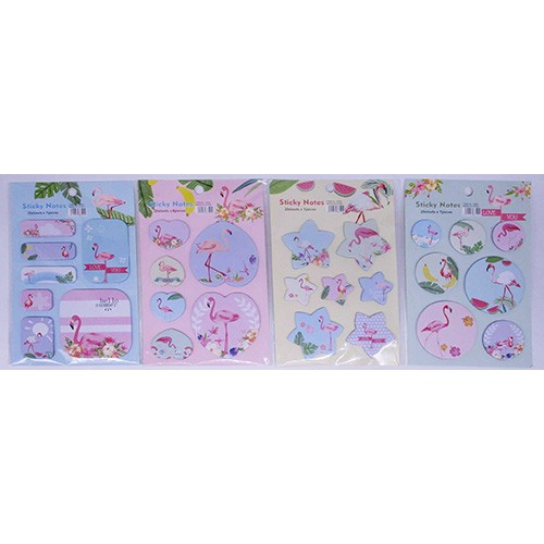 "Бумага для заметок ""Фламинго"" 20л (6шт)"