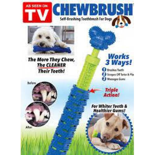 Игрушка для чистки зубов у собак Сhewbrush,Зубная щетка для собак Chewbrush