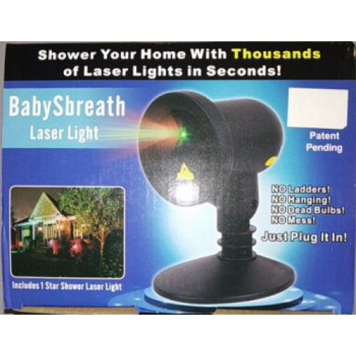 Лазерный проектор Вaby sbreath laser light