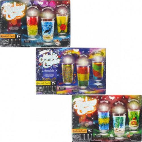 Набор парафиновых свечей «Magic Candle» 7+