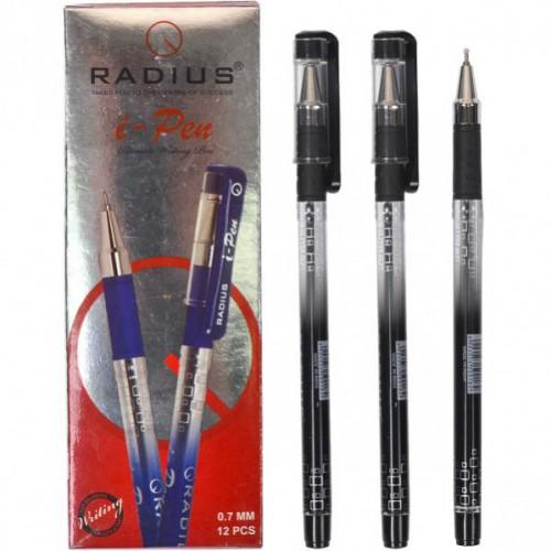 """Ручка шариковая """"i-Pen"""" на масляной основе 0.7мм, ЧЕРНАЯ """"RADIUS"""""""