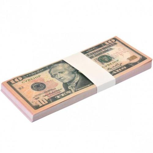 Сувенир 10 долларов (80шт купюр)