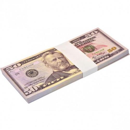 Сувенир 50 долларов (80шт купюр)