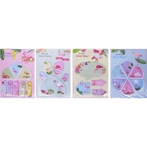 "Бумага для заметок ""Фламинго"" (8шт)"