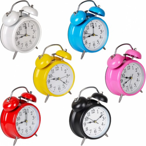 Настольные часы 17*12*5,5см с будильником