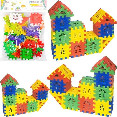 Конструктор Puzzle blocks «Домик» 3+