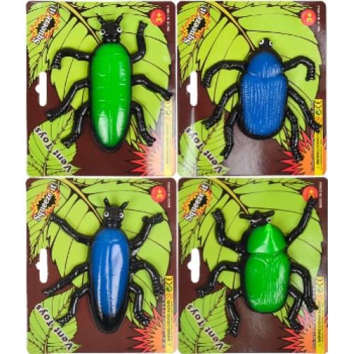 "Лизун ""жуки, пауки"" 10*8см"