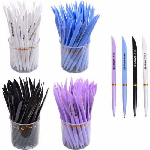 """Ручка шариковая """"Перо"""" 18,5см, 0,5мм, синяя"""