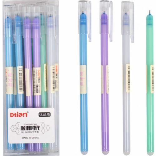 """Ручка гелевая """"пишет-стирает"""" """"Dtian"""" 0,38мм, синяя"""