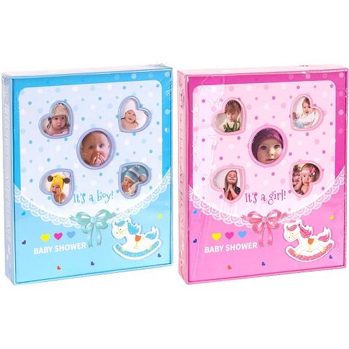 Фотоальбом детский на 80 фотографий 10*15см в картон.коробке 20*23*4,5