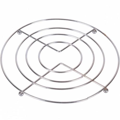 Подставка металлическая под горячее, диаметр 19,5см