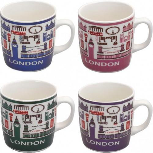 """Чашка """"Лондон"""" 200мл, фаянс"""