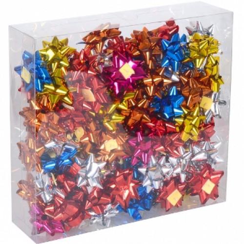 Набор бантов подарочных 4см цветные (95шт)