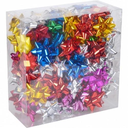 Набор бантов подарочных 5см цветные (95шт)