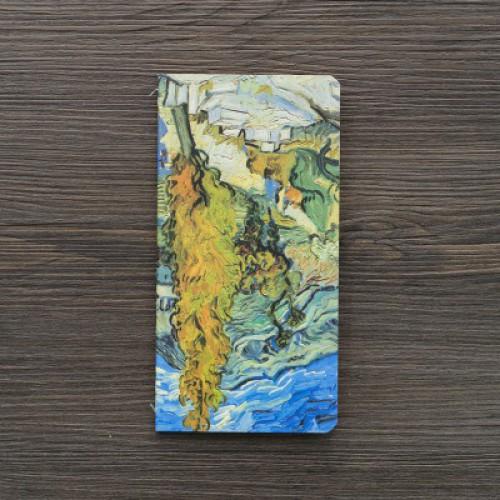 """Блокнот 9*17см """"Картины Ван Гога"""", листы чистые, крафт"""