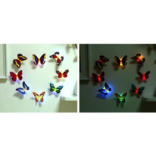 Светодиодная мини Бабочка-ночник, 7*5,5см