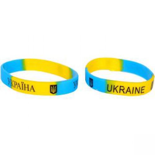 """Браслет силиконовый """"Украина"""" ⌀6см"""