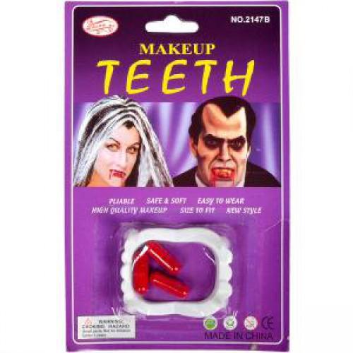 """Набор """"Вампир"""" (зубы + 3 капсулы с кровью)"""
