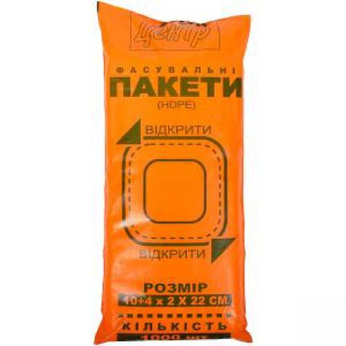 Пакет Фасовка 10+4*22*2см (1000шт)