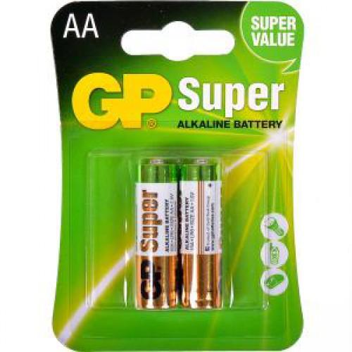 Батарейка GP 15A-U2 щелочная  LR6, AA