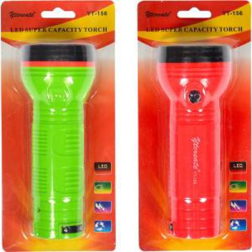 Фонарик LED 16,5см, пластиковый