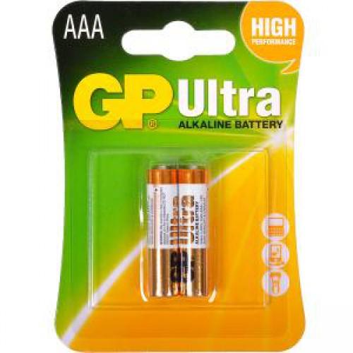 Батарейки GP 24 AU-2 UE2 щелочные LR03, AAA