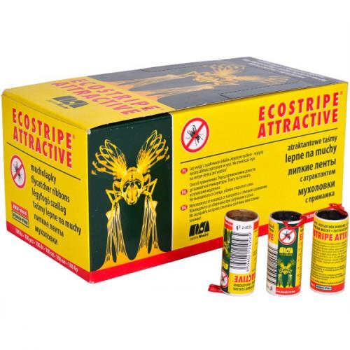 Липкая лента «Ecostripe» от мух (100шт)