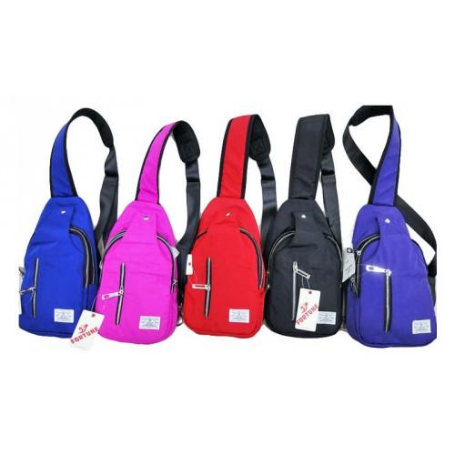 Рюкзак-сумка ДИАГОНАЛЬ 36*18*6см