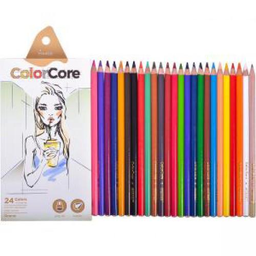 Набор цветных карандашей 24цв MARCO