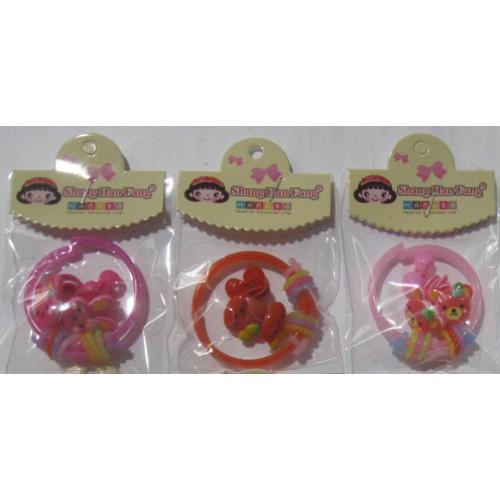 Набор детской бижутерии (браслет+резинка для волос 2шт)