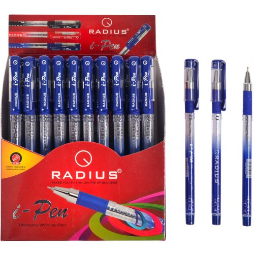 """Ручка шариковая """"i-Pen"""" на масляной основе 0.7мм, дисплей, СИНЯЯ """"RADIUS"""""""