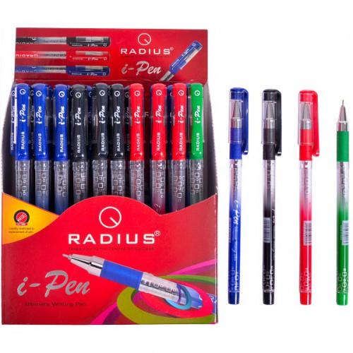 """Ручка шариковая """"i-Pen-МИКС"""" на масляной основе 0.7мм, дисплей """"RADIUS"""""""
