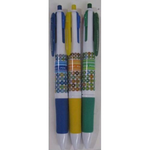 """Ручка шариковая 4х цветная """"Орнамент"""""""