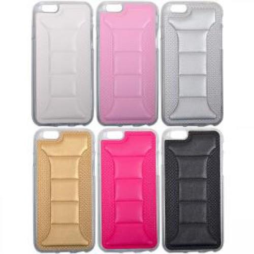 Чехол силиконовый кожа на iPhone6