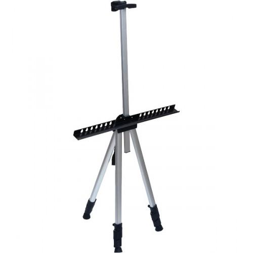 Мольберт металлический 125*85*157см (высота холста 56-90см) в чехле