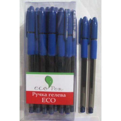 """Ручка гелевая """"Eco"""" 0,5мм, СИНЯЯ"""