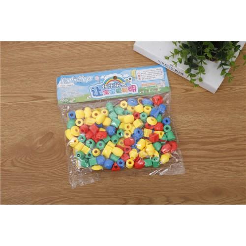 Конструктор Puzzle blocks «Круглые блоки-маленькие бусины»