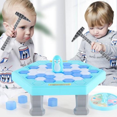 """Развивающая мини-игра """"Пингвиненок на льду"""""""