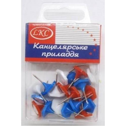 """Кнопка декоративная """"шестигранная"""" (20шт)"""
