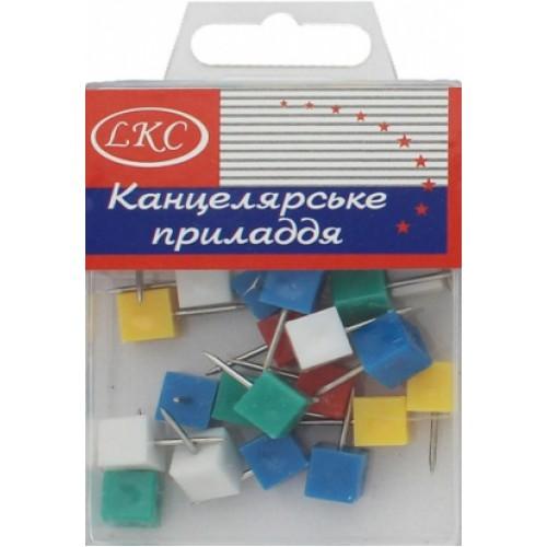 """Кнопка декоративная """"кубик"""" (30шт)"""