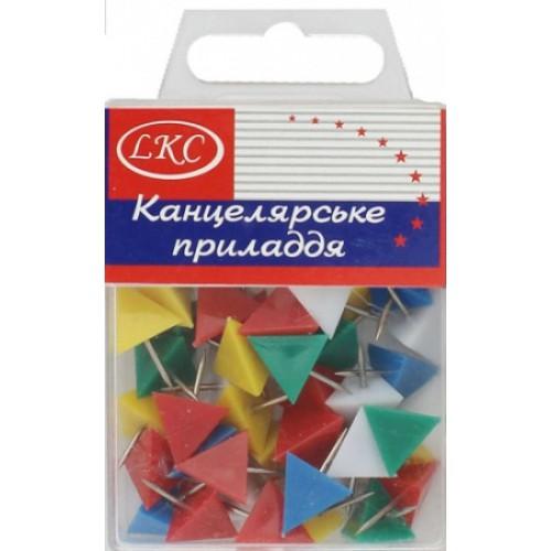 """Кнопка декоративная """"треугольник"""" (40шт)"""